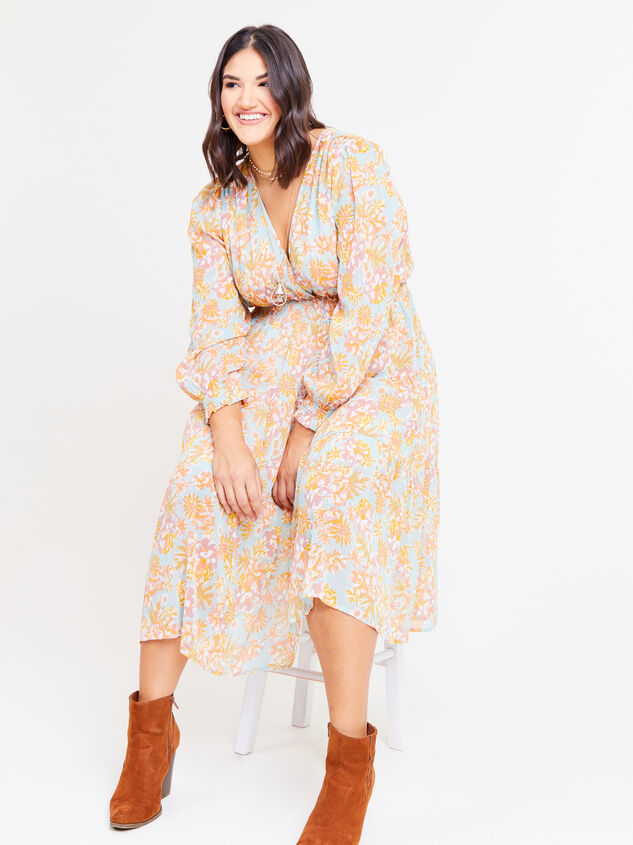 Jolene Maxi Dress Detail 5 - ARULA formerly A'Beautiful Soul