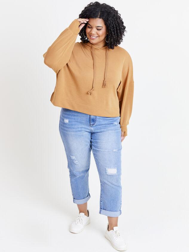 Empower Sweatshirt Detail 5 - ARULA formerly A'Beautiful Soul