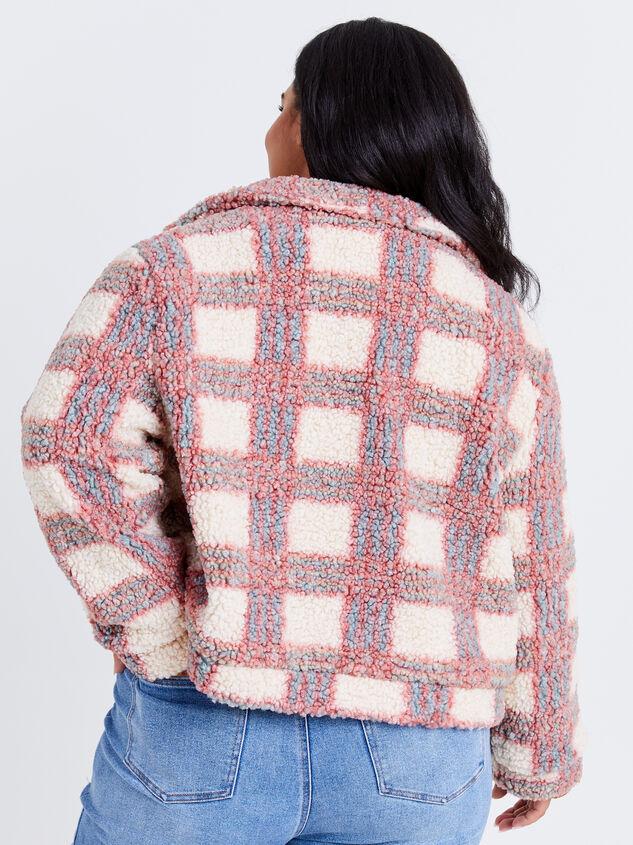 Rayne Plaid Jacket Detail 3 - ARULA