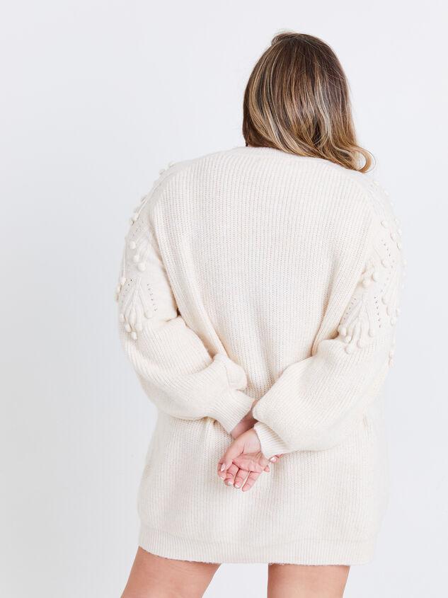 Gabriella Sweater Dress Detail 3 - ARULA