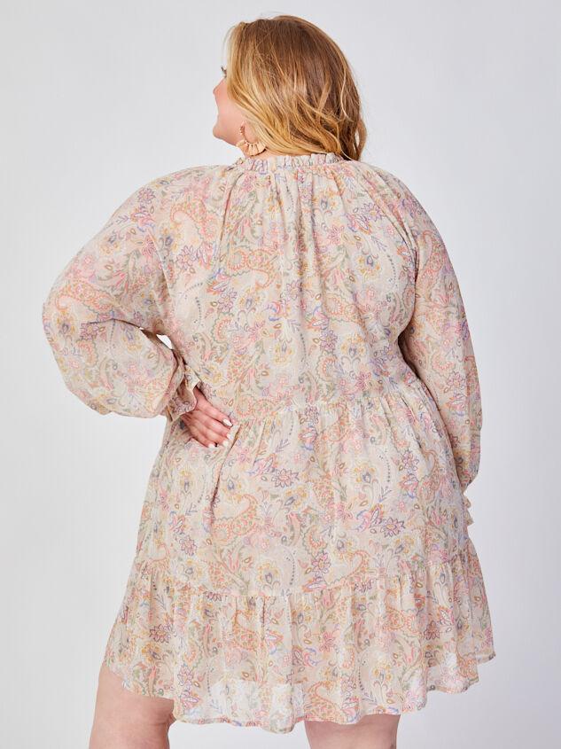 Ashton Paisley Dress Detail 3 - ARULA formerly A'Beautiful Soul