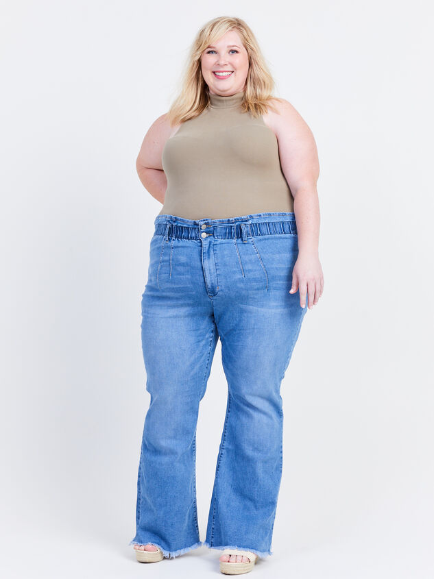 """Ashling 31.5"""" Inseam Jeans Detail 6 - ARULA formerly A'Beautiful Soul"""
