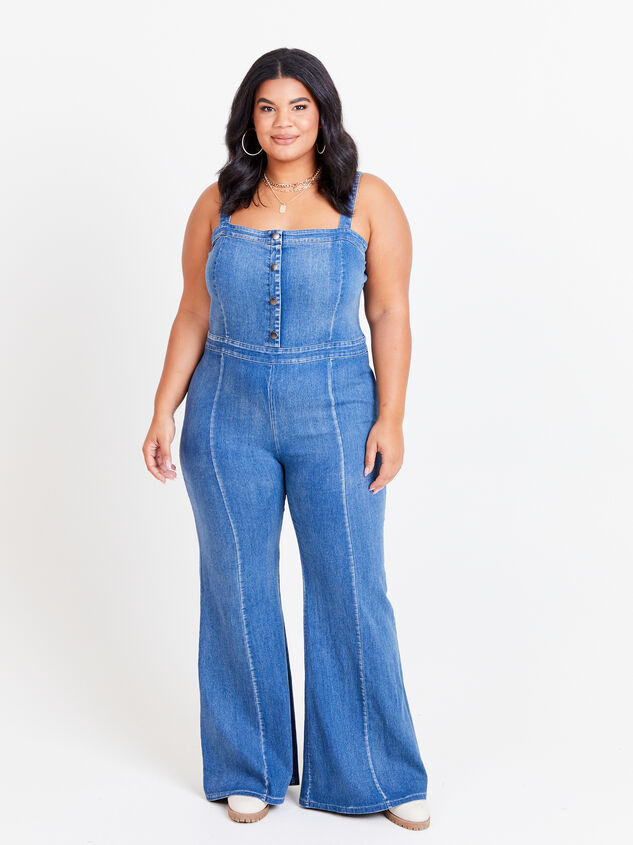 Jenna Overall Jumpsuit Detail 1 - ARULA formerly A'Beautiful Soul