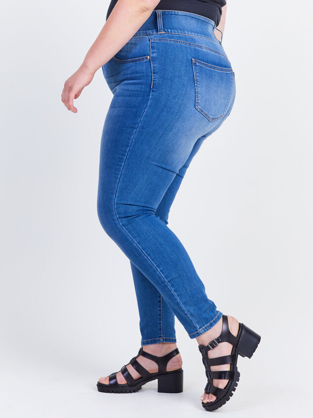 Waist Smoothing Skinny Jeans - Decoy Detail 3 - ARULA formerly A'Beautiful Soul