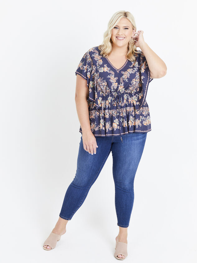 Faren Floral Top Detail 5 - ARULA formerly A'Beautiful Soul
