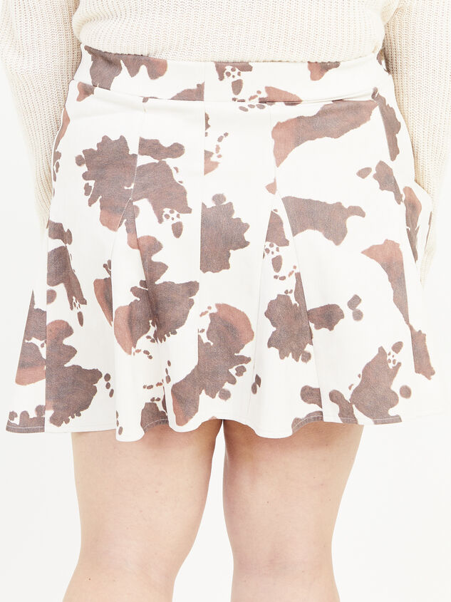 Cowhide Skirt Detail 4 - ARULA formerly A'Beautiful Soul