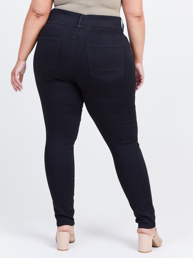 Waist Smoothing Skinny Jeans Detail 4 - ARULA formerly A'Beautiful Soul