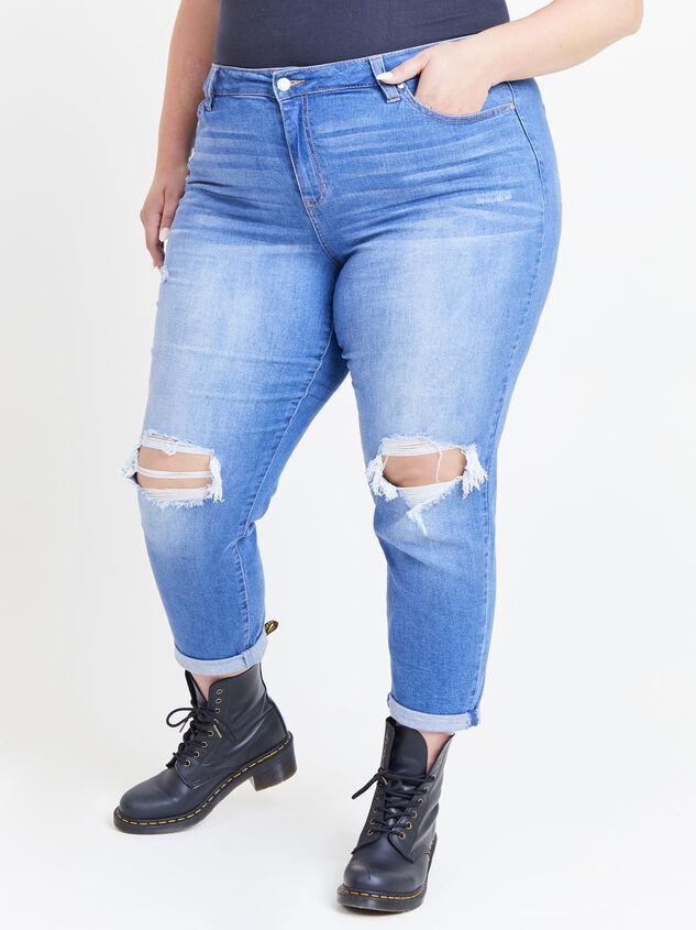 Flashback Girlfriend Jeans Detail 2 - ARULA formerly A'Beautiful Soul