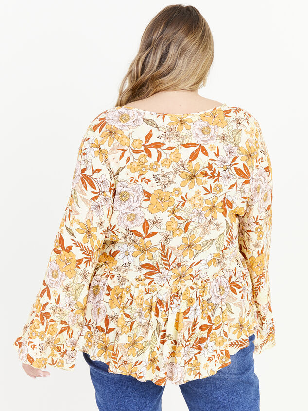 Kenna Top - Yellow Detail 3 - ARULA formerly A'Beautiful Soul