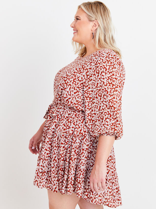 Maeve Floral Dress Detail 2 - ARULA formerly A'Beautiful Soul