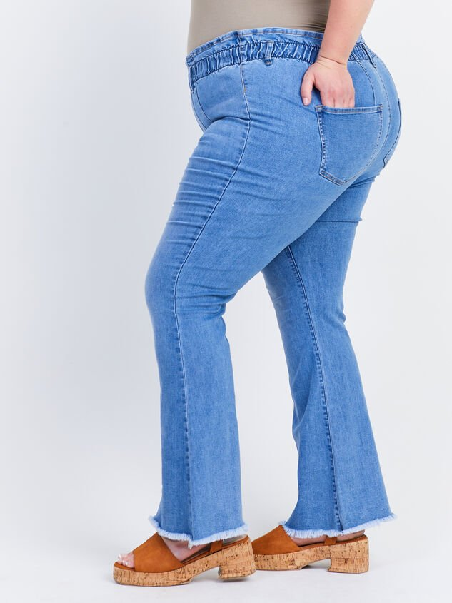 """Ashling 31.5"""" Inseam Jeans Detail 3 - ARULA formerly A'Beautiful Soul"""