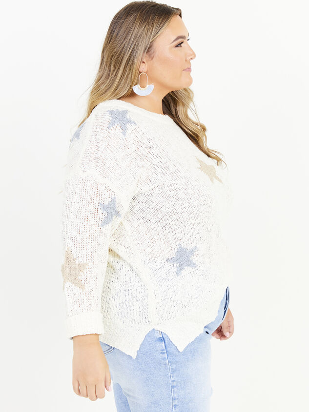 Seeing Stars Sweater Detail 2 - ARULA formerly A'Beautiful Soul