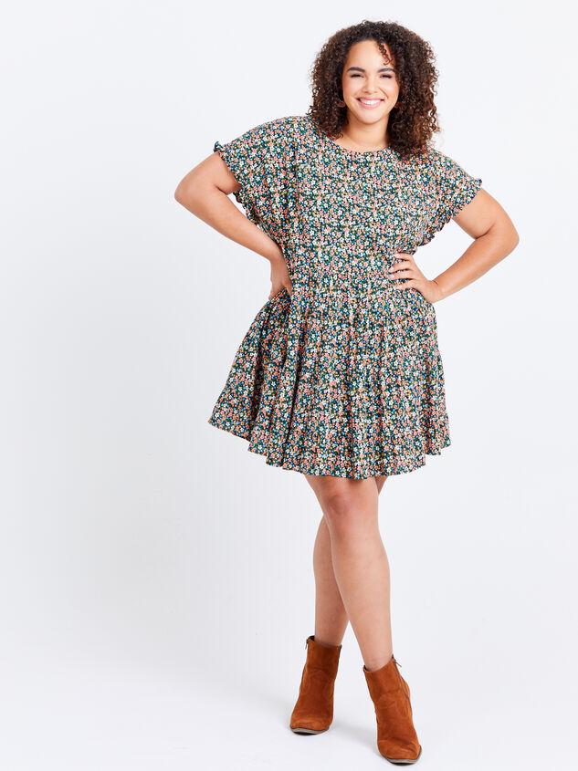 Fifi Dress - Black Floral Detail 5 - ARULA