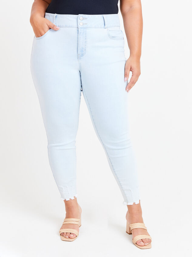 Caris Skinny Jeans Detail 2 - ARULA formerly A'Beautiful Soul
