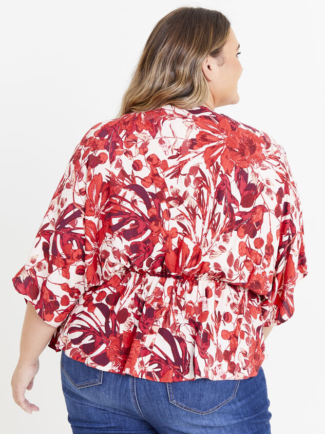 Giovanni Floral Top Detail 3 - ARULA formerly A'Beautiful Soul