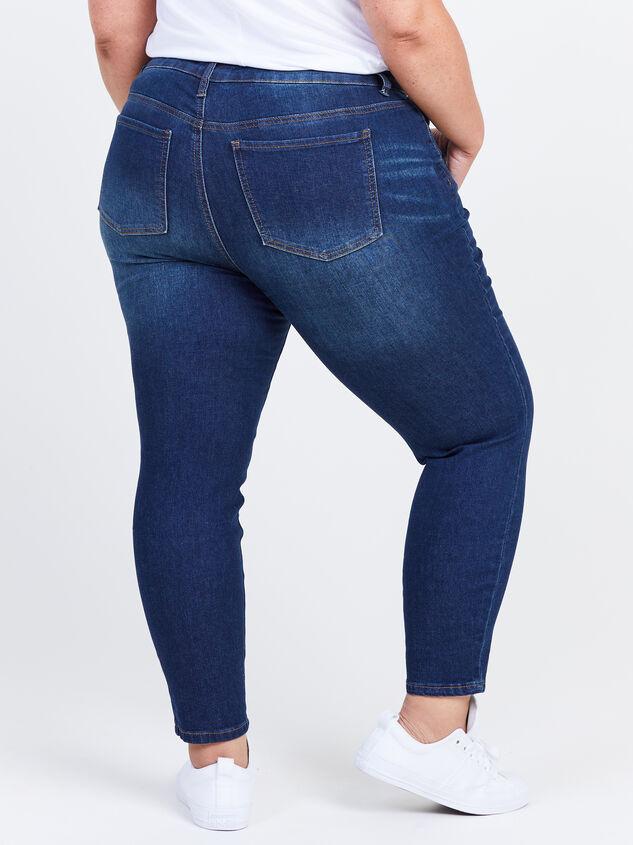"Incrediflex 27"" Skinny Jeans Detail 4 - ARULA formerly A'Beautiful Soul"