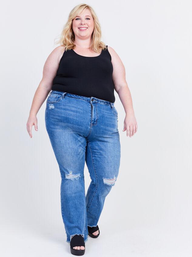Cory Incrediflex Bootcut Jeans Detail 6 - ARULA formerly A'Beautiful Soul