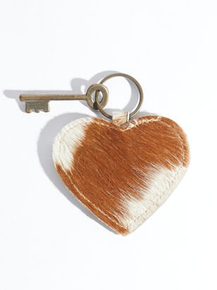 Animal Fur Heart Keychain - ARULA