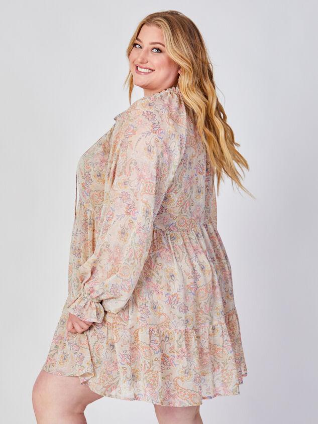 Ashton Paisley Dress Detail 2 - ARULA formerly A'Beautiful Soul