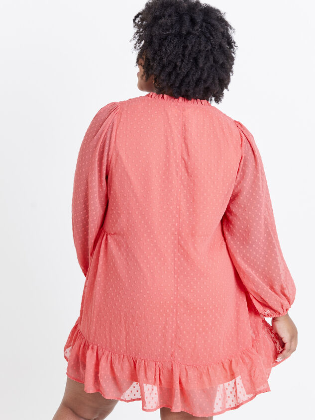 Dusty Dress - Coral Detail 3 - ARULA formerly A'Beautiful Soul