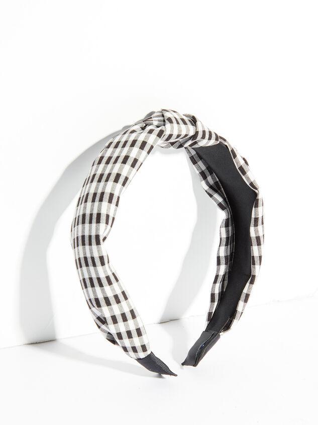 Kayden Gingham Headband - ARULA