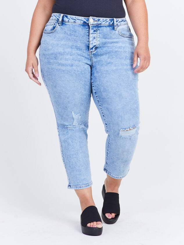 Eddie Straight Jeans Detail 2 - ARULA formerly A'Beautiful Soul