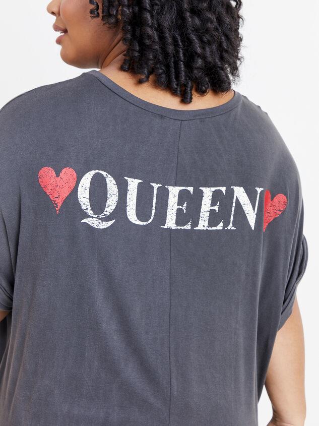 Queen of Hearts Tee Detail 4 - ARULA