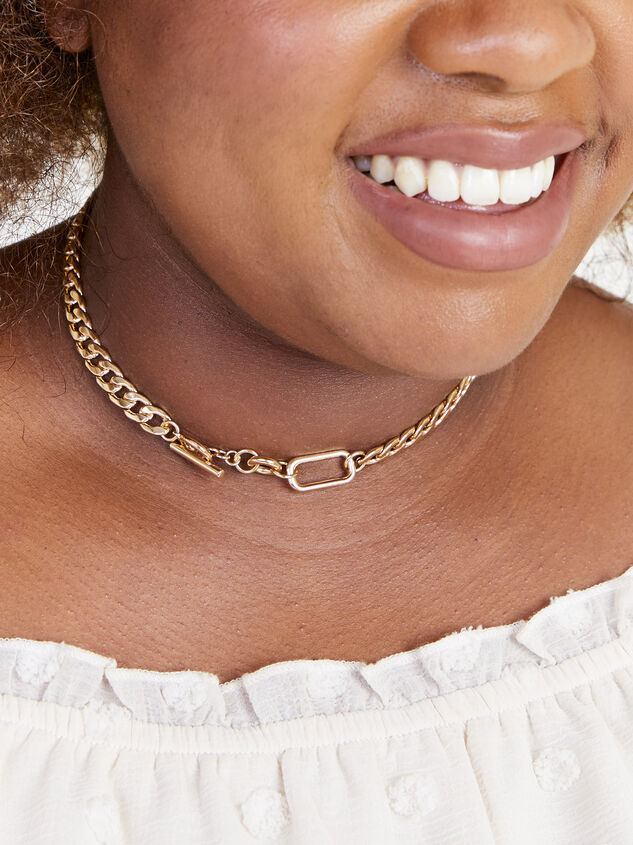 Kiara Chain Necklace Detail 2 - ARULA formerly A'Beautiful Soul