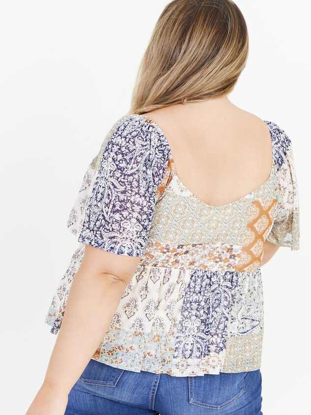 Piper Patchwork Top Detail 3 - ARULA formerly A'Beautiful Soul