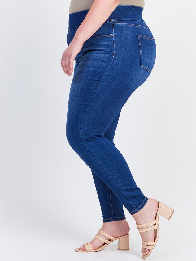 Waist Smoothing Skinny Jeans – Sienna Detail 3 - ARULA formerly A'Beautiful Soul