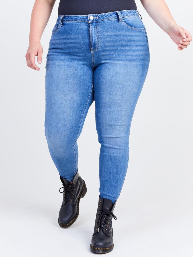 "Incrediflex 29"" Skinny Jeans Detail 2 - ARULA formerly A'Beautiful Soul"