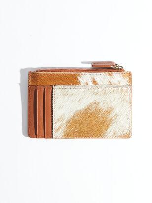 Brown Fur Cardholder - ARULA