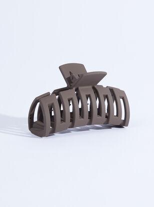 Capri Claw Clip - Brown - ARULA