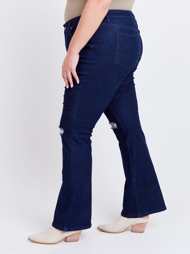 Henley Bootcut Jeans Detail 3 - ARULA