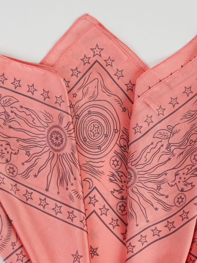 Celestial Bandana - Pink Detail 3 - ARULA formerly A'Beautiful Soul