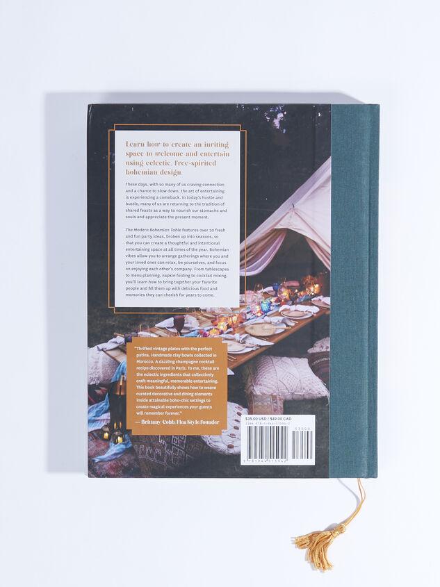 Modern Bohemian Table Book Detail 2 - ARULA formerly A'Beautiful Soul