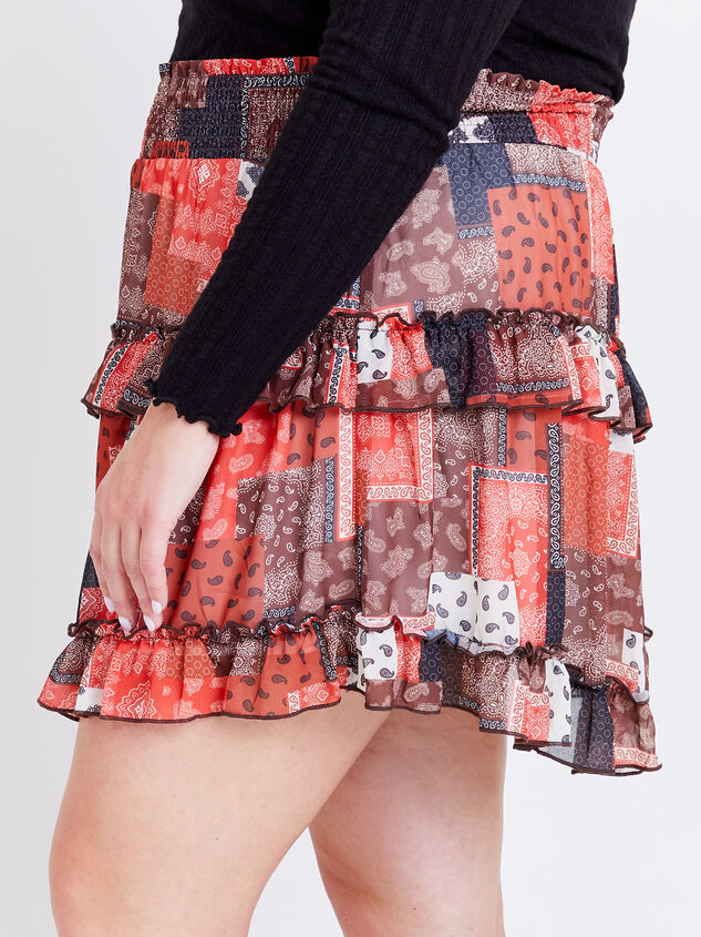 Nina Patchwork Skirt Detail 3 - ARULA formerly A'Beautiful Soul
