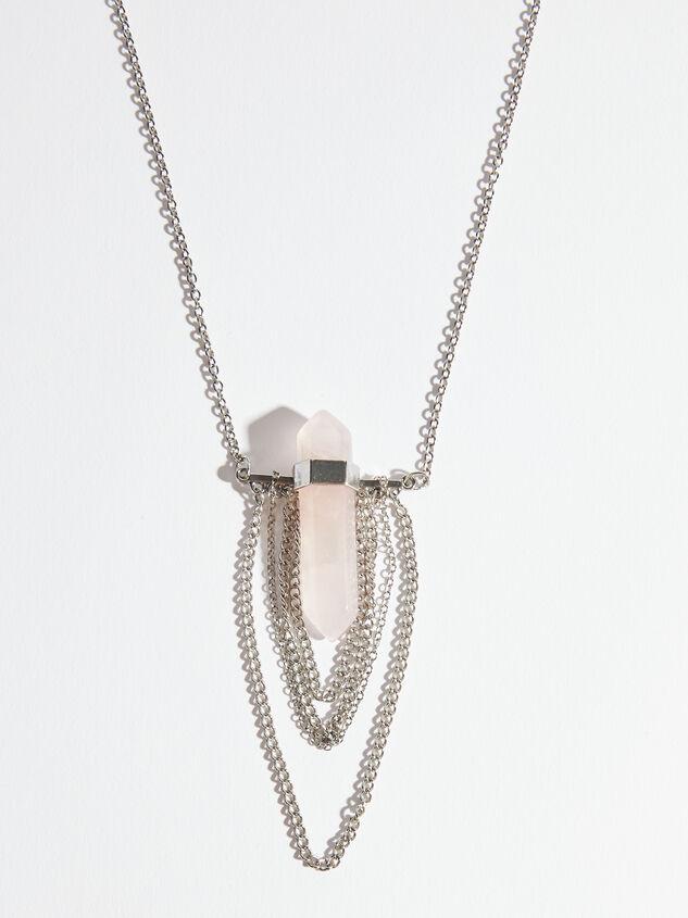 Celeste Stone Necklace Detail 2 - ARULA formerly A'Beautiful Soul