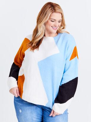 Alice Chevron Sweater - ARULA