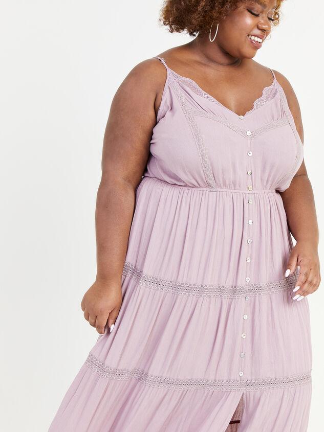 Aubrey Maxi Dress Detail 4 - ARULA