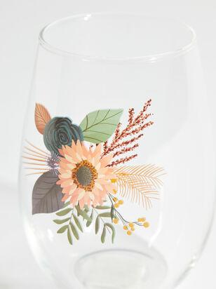 Wildflower Wine Glass - ARULA