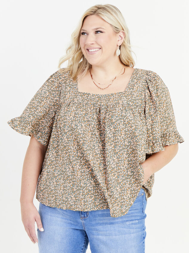 Ellis Floral Top Detail 1 - ARULA formerly A'Beautiful Soul
