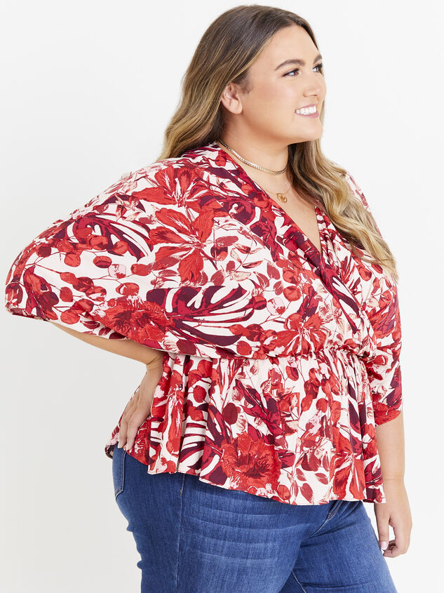 Giovanni Floral Top Detail 2 - ARULA formerly A'Beautiful Soul