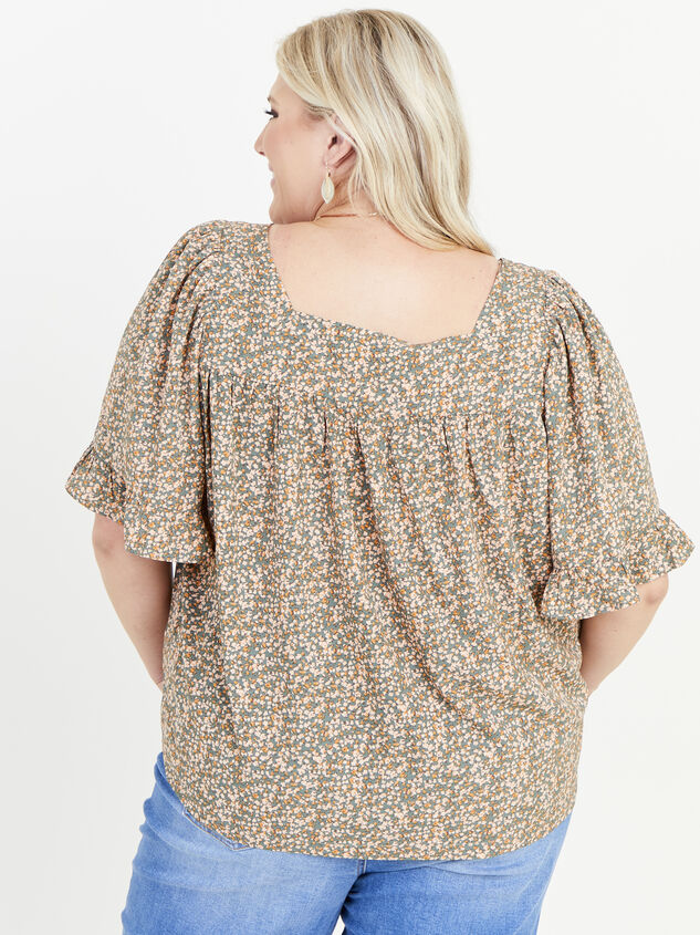 Ellis Floral Top Detail 3 - ARULA formerly A'Beautiful Soul
