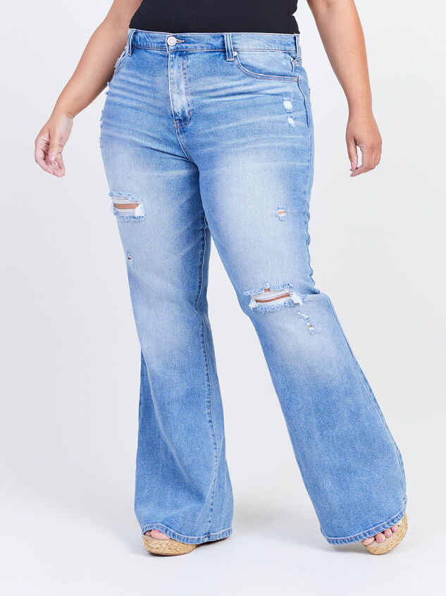 Galveston Flare Jeans Detail 2 - ARULA formerly A'Beautiful Soul