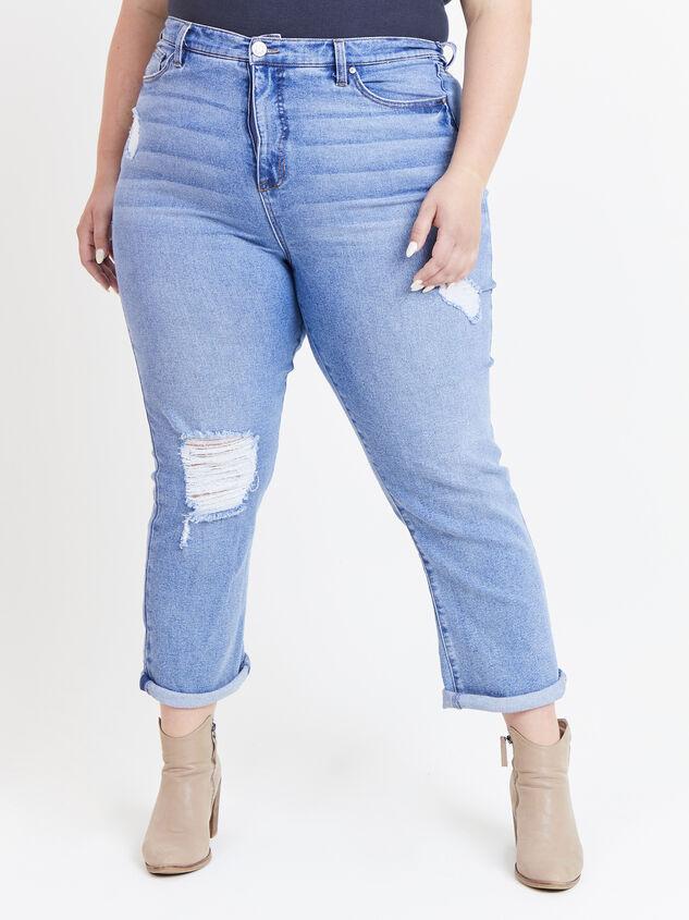 Sally Girlfriend Jeans Detail 2 - ARULA formerly A'Beautiful Soul