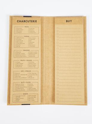 Charcuterie List Pad - ARULA