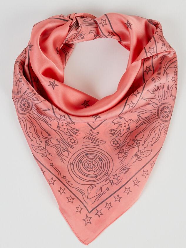 Celestial Bandana - Pink Detail 1 - ARULA formerly A'Beautiful Soul