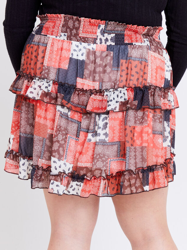 Nina Patchwork Skirt Detail 4 - ARULA formerly A'Beautiful Soul