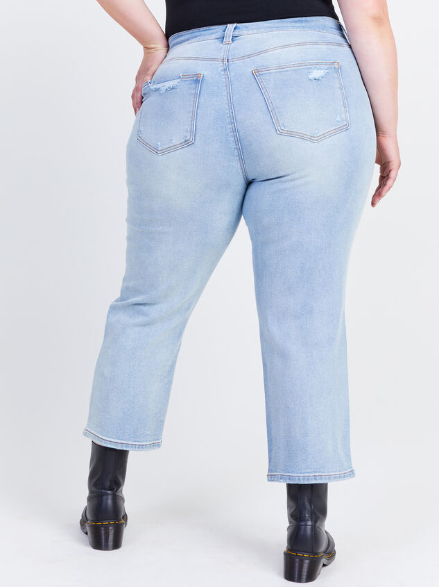 Crystal Beach Straight Jeans Detail 4 - ARULA formerly A'Beautiful Soul